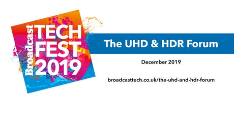The UHD and HDR Forum tickets