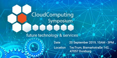 Cloud Computing Symposium - Cloud Services for SMEs