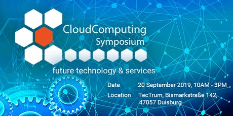 Cloud Computing Symposium - future technologies and services tickets