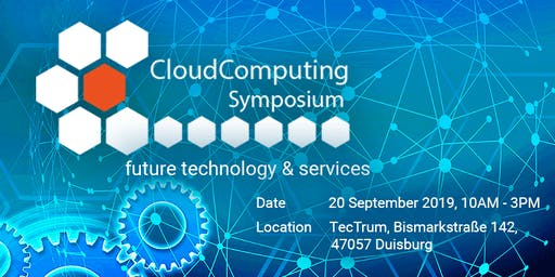 Cloud Computing Symposium - future technologies and services