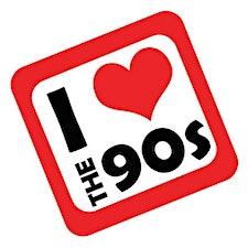 I love the 80s vs 90s logo