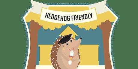 Hedgehog Surveying Workshop tickets