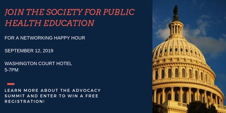 SOPHE sponsored Happy Hour tickets