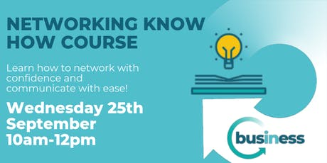 Networking Know How Course, by In Business tickets
