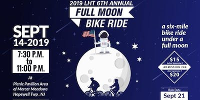Lawrence Hopewell Trail and Mercer County Park Commission's 6th Annual Full Moon Bike Ride