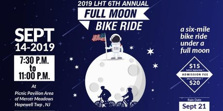 Lawrence Hopewell Trail and Mercer County Park Commission's 6th Annual Full Moon Bike Ride  tickets
