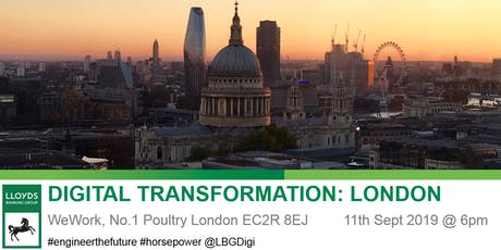Digital Transformation: London tickets