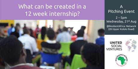 What Can Be Created in a 12 Week Internship? - A Pitching Event tickets