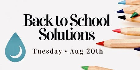 Back to School Solutions tickets