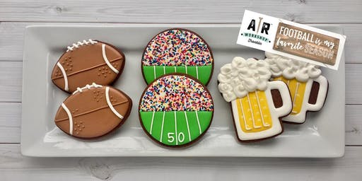 Football Cookie Decorating Party and AR Workshop Mini Make-and-Take Project  - Franklin