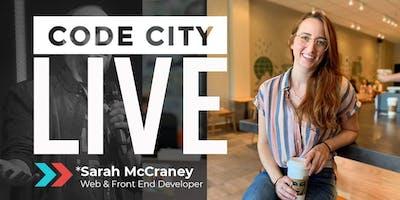 Code City LIVE on Facebook with Web Developer Sarah McCraney