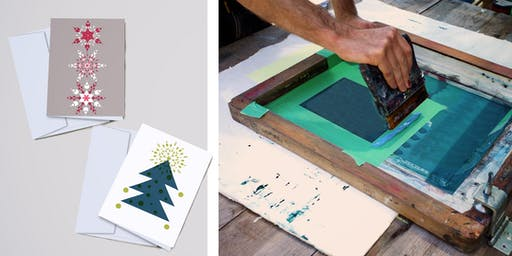 Xmas Card and Giftwrap Printing Workshop