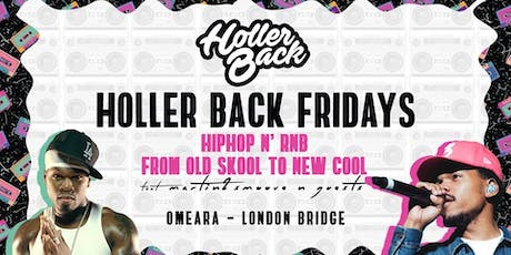 Holler Back - HipHop & RnB | London Freshers Launch tickets