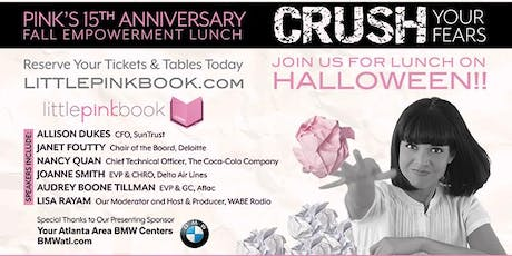 PINK's 15th Anniversary Fall Empowerment Event tickets
