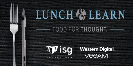 Lunch & Learn with ISG, Western Digital & Veeam - Wichita, KS tickets