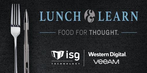 Lunch & Learn with ISG, Western Digital & Veeam - Wichita, KS