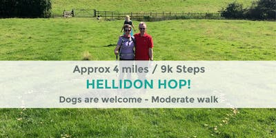 HELLIDON HOP | 4 MILES/ 9K STEPS | MODERATE | NORTHANTS