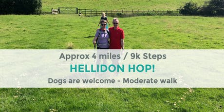 HELLIDON HOP | 4 MILES/ 9K STEPS | MODERATE | NORTHANTS tickets