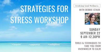 Strategies For Stress Workshop
