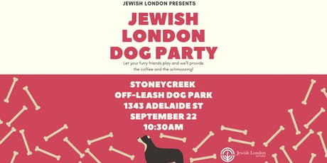 Jewish London Dog Party tickets