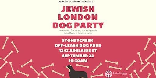 Jewish London Dog Party