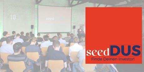 seedDUS - Finde deinen Investor #5 Tickets