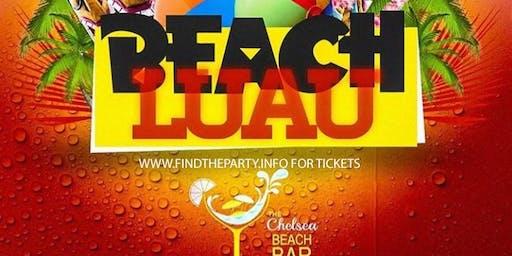 LUAU BEACH PARTY : CHELSEA BEACH BAR : AC : LABOR DAY WKND : 5CASH