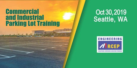 Commercial and Industrial Parking Lot Training - Seattle, WA tickets