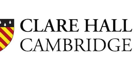 University of Cambridge Alumni Festival - Clare Hall Fellows' Talks tickets