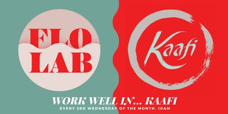 Mindful Coworking Meetup: Work Well In Kaafi tickets