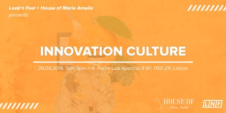 TALK: Innovation Culture at House of Maria Amalia tickets