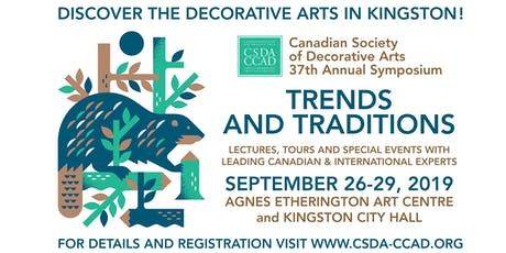 Trends and Traditions, Two public lectures on the Decorative Arts  tickets