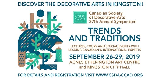 Trends and Traditions, Two public lectures on the Decorative Arts