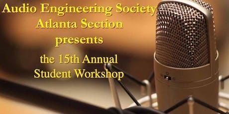 2019 AES Atlanta Student Workshop tickets