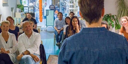 Stories of Inspiration - Spoken Word - donderdag 19 december - Groningen