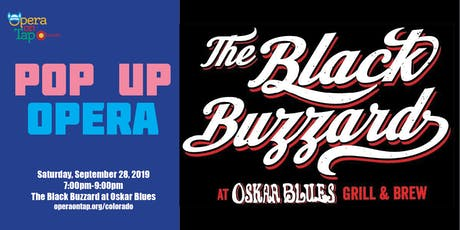 Opera on Tap Pop Up - The Black Buzzard at Oskar Blues tickets