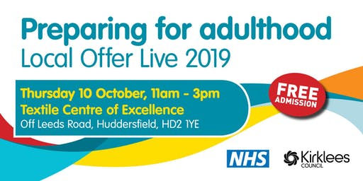 Preparing for Adulthood Local Offer Live 2019 - Public Event