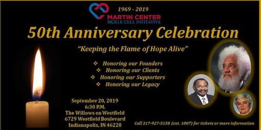 Martin Center Sickle Cell Initiative 50th Anniversary Celebration