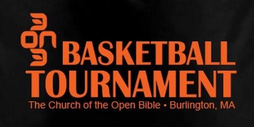 3 on 3 Basketball Tournament 2019