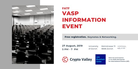 (FATF) VASP Information Event Tickets