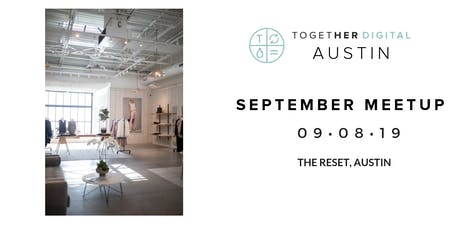 Together Digital Austin September Sip and Shop Members ONLY tickets