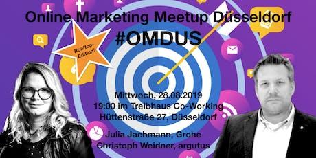 #OMDUS 18 Rooftop Edition: Raus aus dem SEO-Glücksspiel & Brauchen wir noch Social Media Guidelines? Tickets