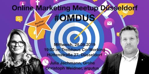 #OMDUS 18 Rooftop Edition: Raus aus dem SEO-Glücksspiel & Brauchen wir noch Social Media Guidelines?