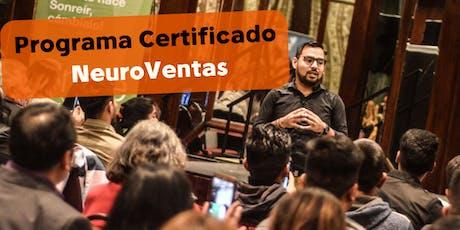 Programa Certificado De NeuroVentas tickets