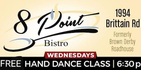 Free Hand Dance Class tickets