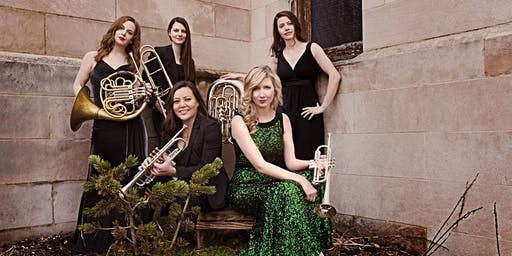 Seraph Brass Concert, America's dynamic brass ensemble drawing from a roster of America's top female brass players