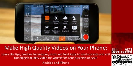 Learn to Create Professional Quality Film on Your Phone tickets