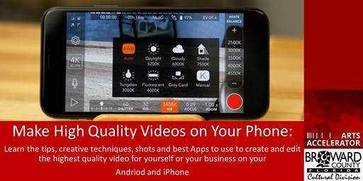 Learn to Create Professional Quality Film on Your Phone