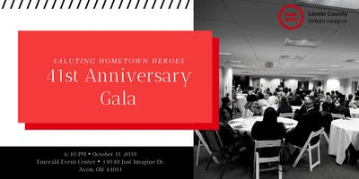 41st Anniversary Gala: Saluting Hometown Heroes