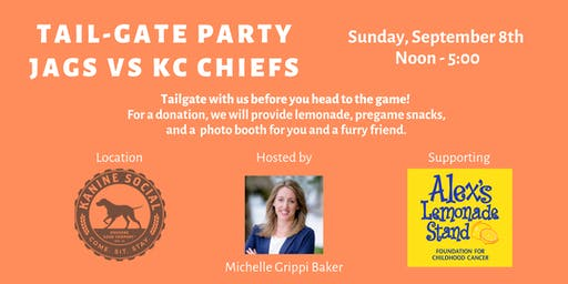 Tail-Gate Party Benefiting Alex's Lemonade Stand